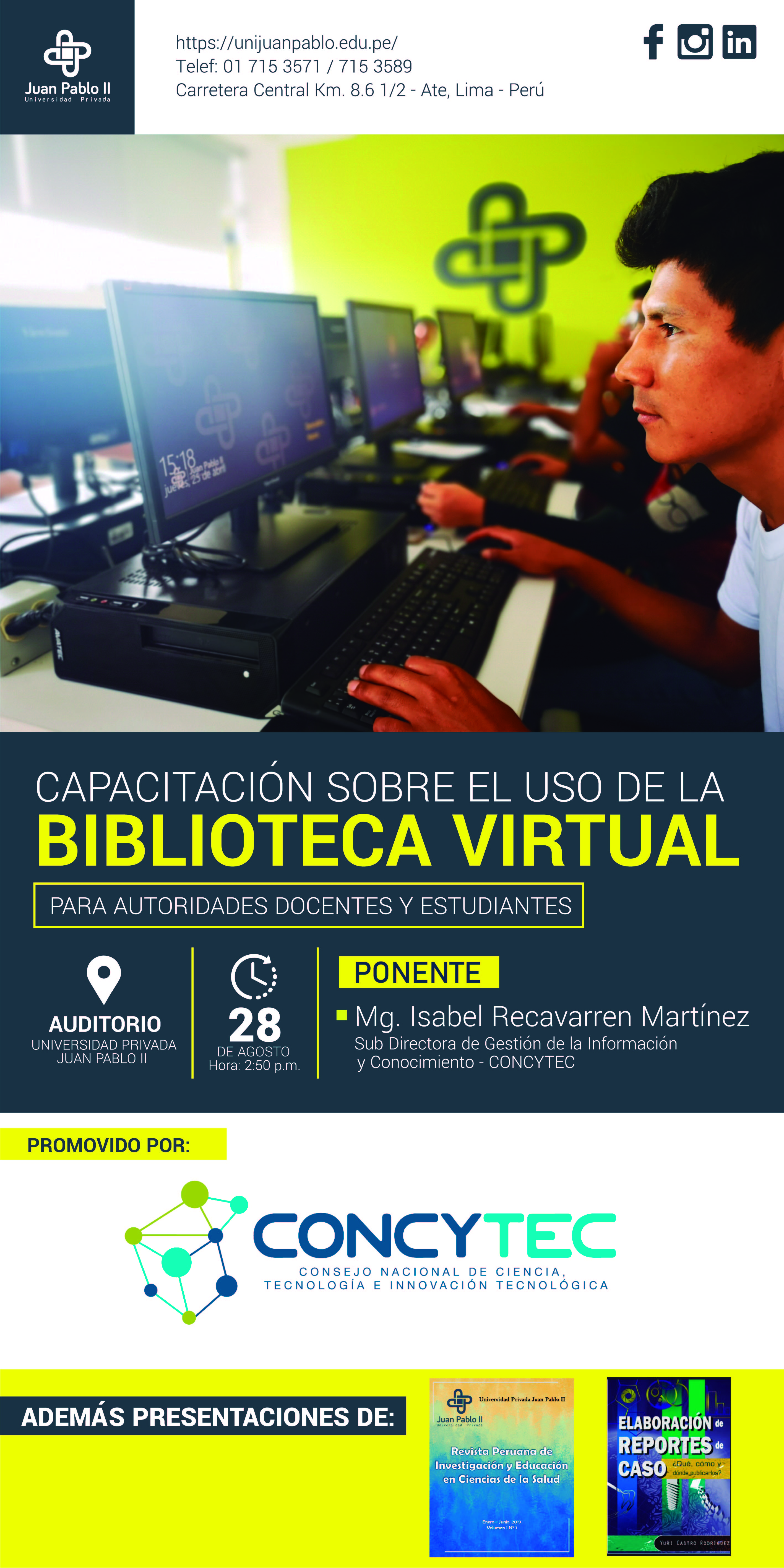 Capacitación Biblioteca Virtual